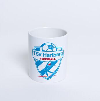 NOBRAND TSV Hartberg Tasse mit Logo Herren weiß