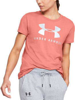 Under Armour Graphic T-Shirt Damen orange