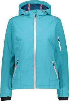 CMP Fix Hood Softshelljacke mit Kapuze Damen blau