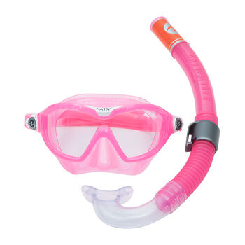 Aqua Lung Reef Set Schnorchelset pink