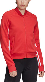ADIDAS Must Haves 3-Stripes Trainingsjacke Damen rot