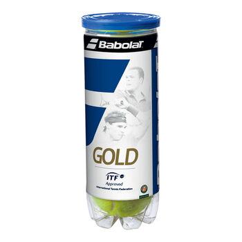 Babolat Gold Pet X3 Tennisbälle gelb