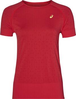 ASICS Seamless SS Trainingsshirt Damen rot