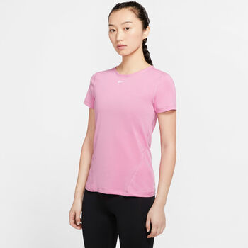 Nike Pro T-Shirt Damen pink