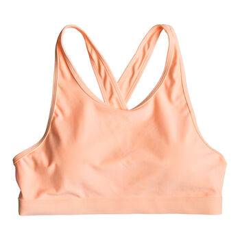 Roxy Lets Dance Sport-BH Damen orange