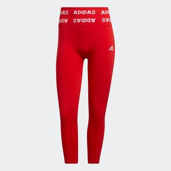 adidas Aeroknit 7/8 Tights Damen rot