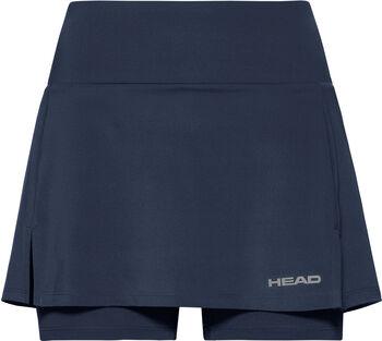 Head Club Basic Skort  Damen blau