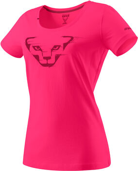 DYNAFIT Graphic Cotton T-Shirt Damen pink