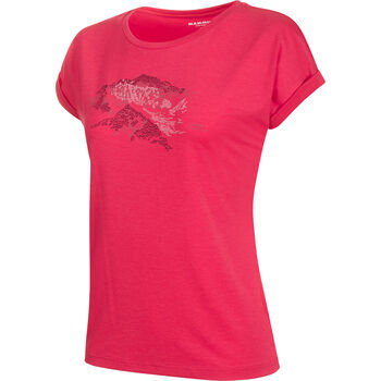 MAMMUT Mountain T-Shirt Damen pink