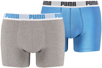 Puma Basic  2-er Pack Unterhose Herren blau