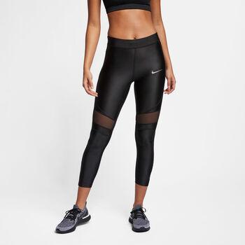 Nike Speed 7/8 Lauftight Damen schwarz