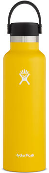 Hydro Flask Standard Mouth Isolierflasche gelb