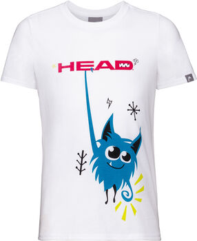 Head Novak B T-Shirt weiß