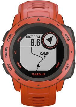 Garmin Instinct Outdoor-Smartwatch rot
