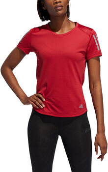 ADIDAS Own the Run T-Shirt Damen rot