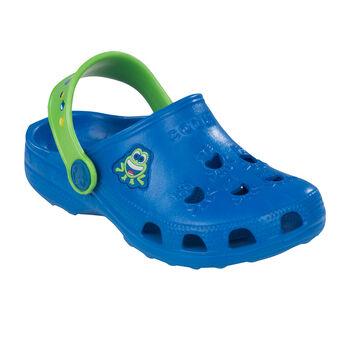 Coqui Little Frog Wellnessandalen blau
