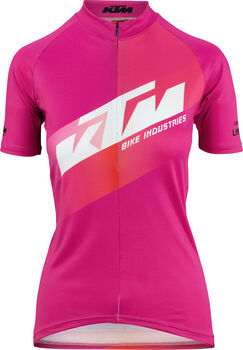 KTM Factory Team Lady Radtrikot Damen pink