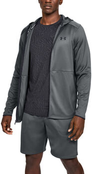 Under Armour MK-1 Warm-Up Kapuzenjacke Herren grau