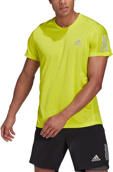 adidas Own The Run T-Shirt Herren gelb