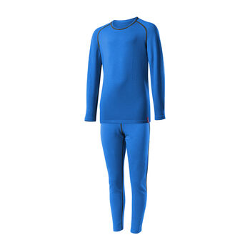 LÖFFLER Transtex® Warm Unterwäsche-Set blau