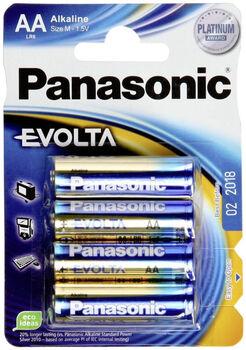 Panasonic 1,5V Batterie  weiß