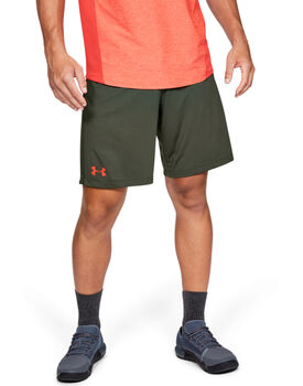 Under Armour MK-1 Wordmark Shorts Herren grün