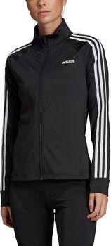 ADIDAS Designed 2 Move 3-Streifen Trainingsjacke Damen schwarz