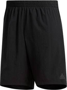 ADIDAS Own the Run 2 in 1 Shorts mit Innentights Herren schwarz