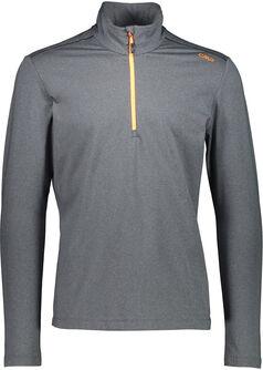 Trentino Langarmshirt mit Halfzip