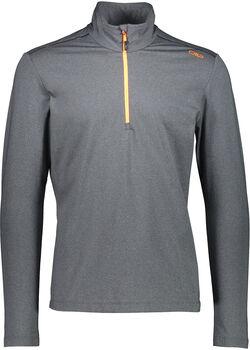 CMP Trentino Langarmshirt mit Halfzip Herren grau