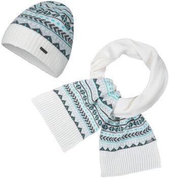 McKINLEY Zada Mütze + Schal Damen weiß