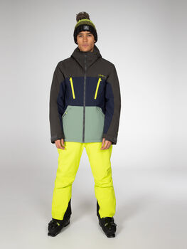 Protest Ultra Snowboardjacke mit Kapuze grau