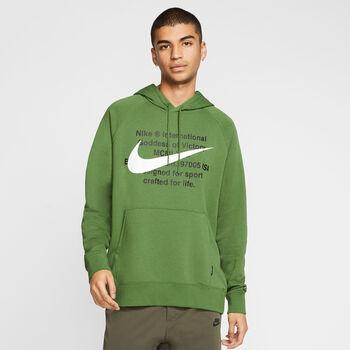 Nike Sportswear Swoosh Hoodie Herren grün