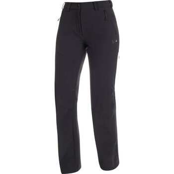 MAMMUT Winter Hiking Softshell Pants Damen schwarz