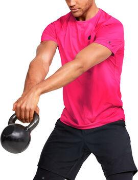 Under Armour HeatGear Rush Fitted T-Shirt Herren pink