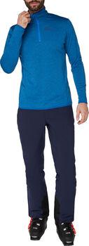 McKINLEY Andreas Langarmshirt mit Half Zip Herren blau