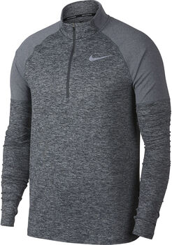 Nike Element Half Zip 2.0 Langarmshirt Herren grau