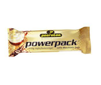 Peeroton Power Pack Riegel Latte Macciato 70g braun