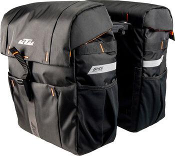 KTM Sport Double Bag Radtasche schwarz
