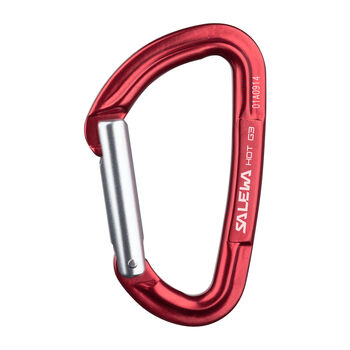 Salewa Hot G3 straight Schnappkarabiner rot