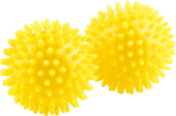 ENERGETICS Noppenbälle gelb