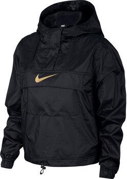 Nike Sportswear Essentials Trainingsjacke Damen schwarz