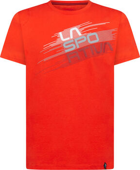 La Sportiva Stripe Evo T-Shirt Herren rot