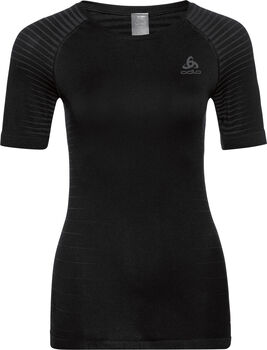 Odlo Performance Light BL TOP Crew neck Unterhemd Damen schwarz