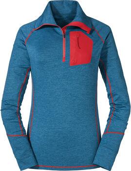 SCHÖFFEL Seekofel Langarmshirt mit Halfzip Damen blau