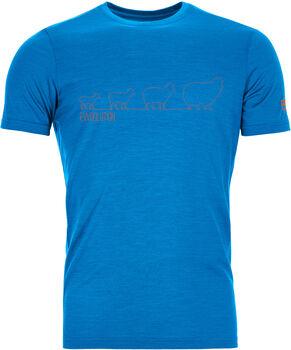 ORTOVOX 150 Cool Ewoolution T-Shirt Herren blau