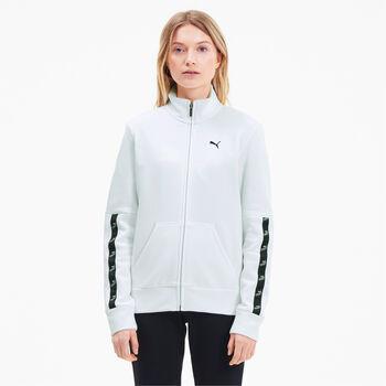 Puma Amplified Sweat Suit Trainingsanzug Damen weiß