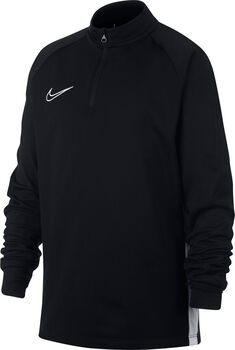 Nike Dri-Fit Academy Langarmshirt mit Halfzip schwarz