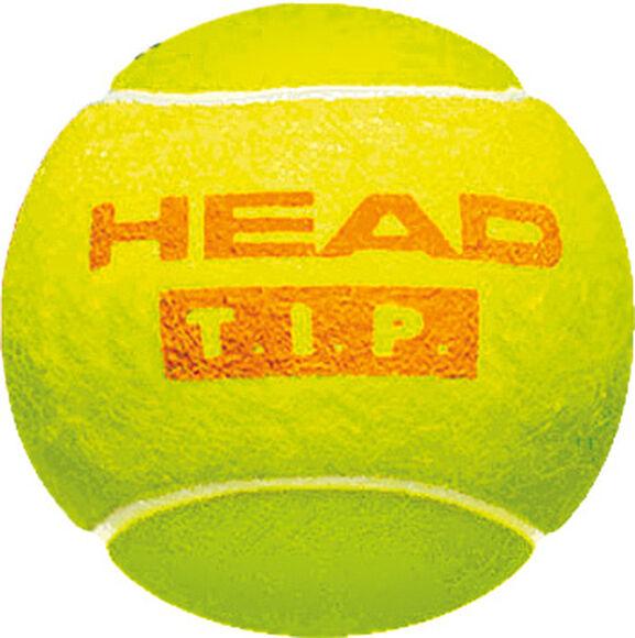 T.I.P Orange 3-er Pack Tennisbälle