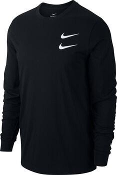 Nike Sportswear Swsh Langarmshirt Herren schwarz